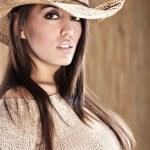 Beautiful Sexy Cowgirl — Stock Photo #3172781