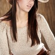 Beautiful Cowgirl - Foto de Stock
