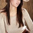 Beautiful Cowgirl — Stock Photo
