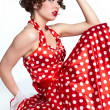 Royalty-Free Stock Photo: Pin-up girl. American style