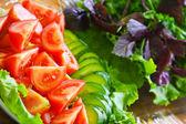 Fresh green-stuffs — Stock Photo
