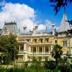 Old luxurious palace exterior — Stock Photo #3810500