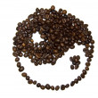 Ying Yang Coffee Beans — Stock Photo