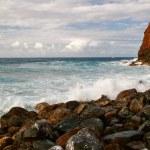 widokiem na ocean — Zdjęcie stockowe