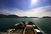 корабли в море — Стоковое фото