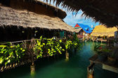 On the Chao Praya river — Stock Photo