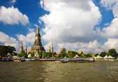 On the Chao Praya river — Stock Photo