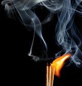 Wedstrijden met het vuur — Stockfoto