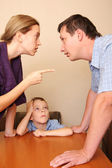 Conflict in a family 3 — Stock Photo