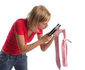 žárlivá žena — Stock fotografie