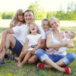 Big family — Stockfoto #3503113