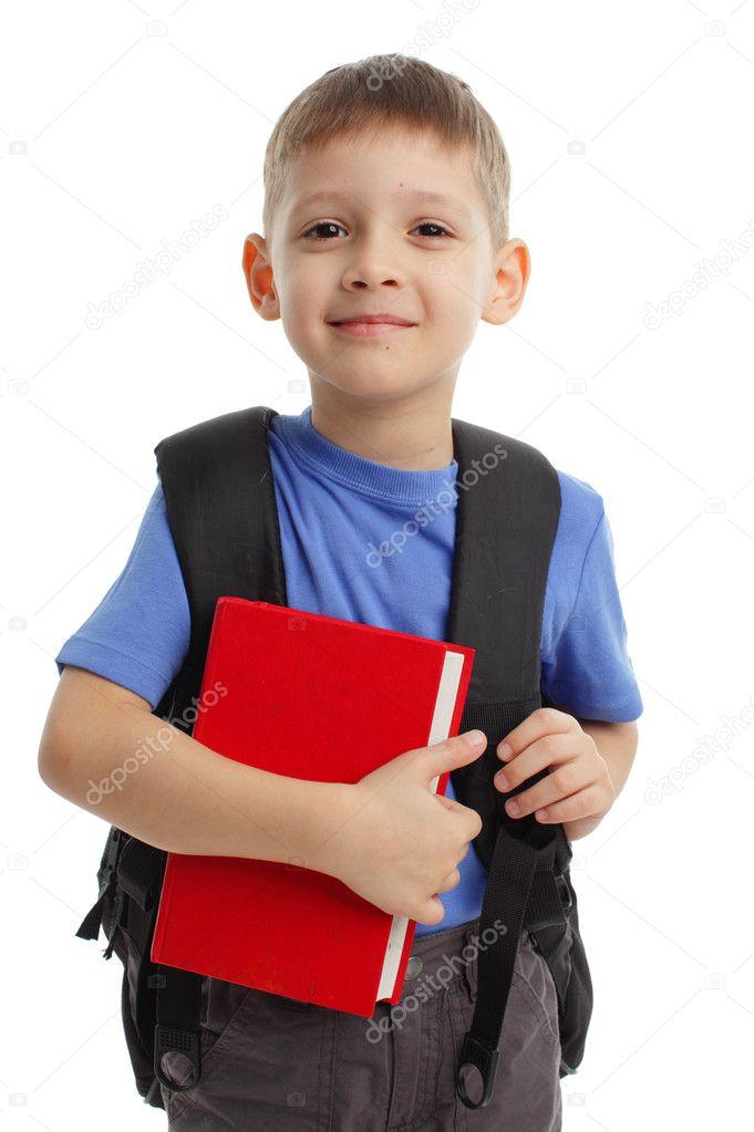 Schoolboy — Stock Photo © TatyanaGl #3502913