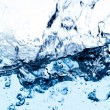 Clean water splash — Foto Stock