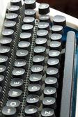 Stara maszyna do pisania klawiatura — Zdjęcie stockowe