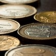 Royalty-Free Stock Photo: Euro coins