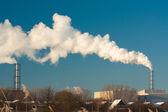 Dyrty smoke — Stock Photo