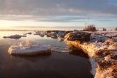 Mare al tramonto — Foto Stock