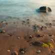 Sea with stones — Stock Photo