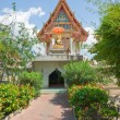 Buddhist temple, Pattaya - Stock Photo