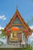 Buddhistiskt tempel, pattaya — Stockfoto
