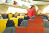In plane — Stock Photo
