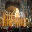 Worship in the Orthodox Church — Stock Photo