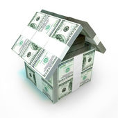Hundred Dollars house — Stock Photo