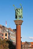 Lure Blowers Column. Copenhagen, Denmark — Stock Photo
