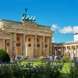 Brandenburg Gate. Berlin - 图库照片