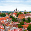 Stock Photo: Tallinn from above, Estonia