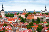Tallinn from above, Estonia — Stock Photo