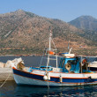 Fishing boats, Crete — Stock Photo