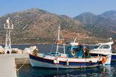 Fishing boats, Crete — Stock Photo