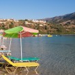 Kournas lake. Crete - Stock Photo