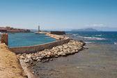 Porto di chania. creta — Foto Stock