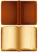 Old book — Stock Vector