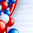 Independence Day background - Imagen vectorial