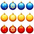 Christmas ornament — Vector de stock #3153752