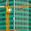 Стоковое фото: Skyscraper under construction