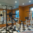 Interior gym - Stock Photo