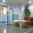 Stockfoto: Pool hall anteroom