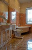 Interior home bathroom — Stock Photo