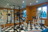 Interior gym — Stock Photo