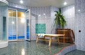 Het zwembad hal wachtkamer — Stockfoto