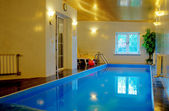 Interior swimming pool — Stock Photo