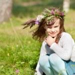Lovely little baby girl — Stock Photo