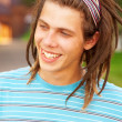 Young man with dreadlocks — Stock Photo