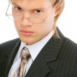 Portrait of young businessman close up — Stock Photo #3246988