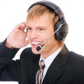 Male customer service — Stock Photo