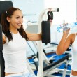 Stock Photo: Girls in gym